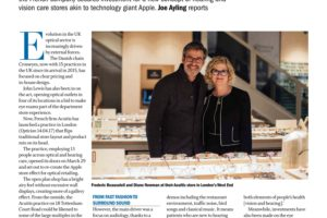 The Optician Magazine: Can Acuitis be the Apple of our eyes and ears?