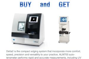 Buy Delta2 and Get ALM700 Auto-Lensmeter