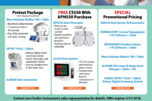 First-Time Offer: Special Optometry Packages and Pricing
