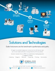 thumbnail of Essilor Instruments Brand ad email