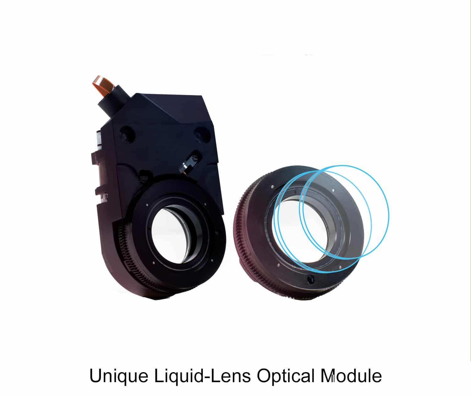 Unique Liquid-Lens Optical Module